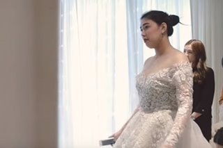 WATCH: A closer look at Dani Barretto's wedding gown