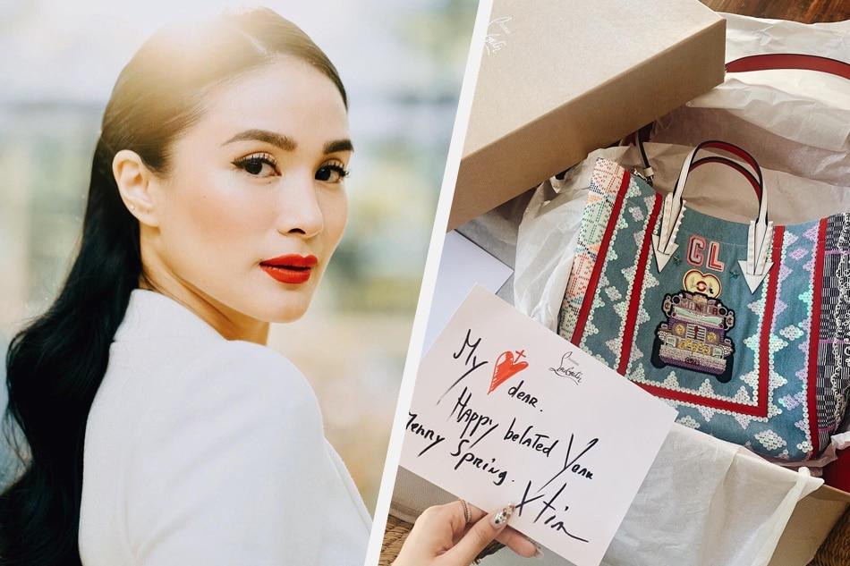 LOOK: Christian Louboutin sends gift to Heart Evangelista