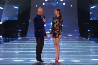 WATCH: Catriona brings 'lava walk' to Miss Teen USA stage