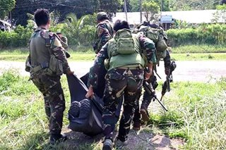 Hinihinalang NPA patay sa engkuwentro sa Northern Samar