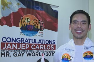 Pinoy wagi bilang Mr. Gay World 2019