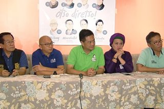 Senatorial bets make final campaign pitch