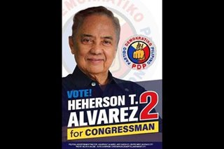 Former senator Alvarez withdraws from Isabela congressional race: Comelec