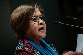 De Lima: 'Let our vote be a protest vote'