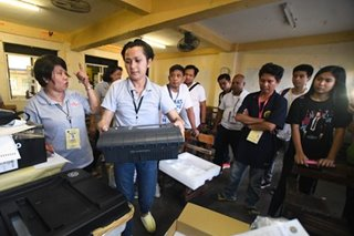 Malfunctioning vote counting machine replaced in Pasig