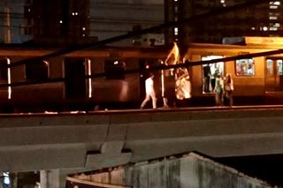 Several injured in LRT-2 train collision between Cubao, Anonas stations