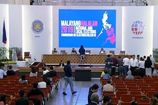 Comelec postpones proclamation of winning senators, party-list groups anew
