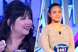 'Idol Philippines': Regine brought to tears by 'Somewhere Over the Rainbow' cover