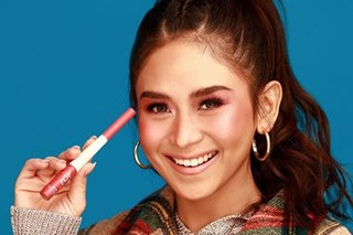 Did you know? Sarah Geronimo now has a makeup line