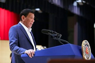 Duterte says invited to visit South Korea with Russia's Putin