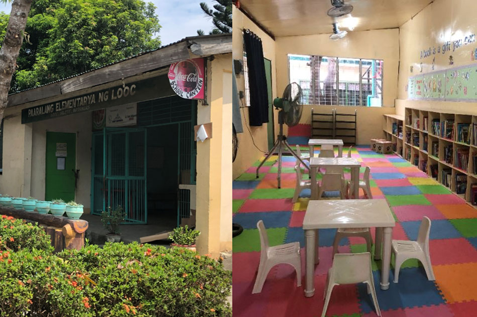 Batangas school gets new library from ABS-CBN Lingkod Kapamilya