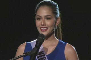 WATCH: Bb. Pilipinas 2019 candidates in 'free speak' competition