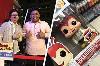 Collectors stake out Jollibee stores to get Funko Pop! toy in barong