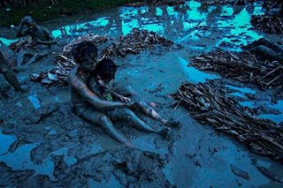 The mud festival of Nueva Ecija