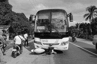 'Habal-habal' driver, patay pagkatapos mabangga ng bus sa Dipolog City