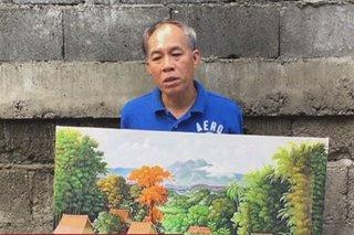 Ilonggo artist naitataguyod ang dialysis ng misis sa mga likha