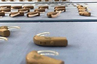 500 nabiyayaan ng hearing aid sa Pampanga