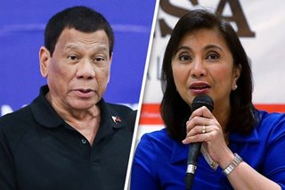 'Ramdam niya iyon': Robredo says Duterte knows she's 'not a threat'