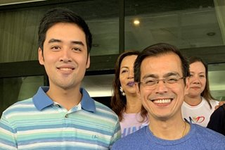 LOOK: Rising political stars Isko Moreno and Vico Sotto meet at fun run
