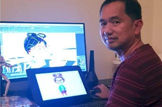 Pinoy animator shares creative talents with fellow OFWs