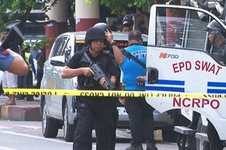 Suicide bombing simulation drill, isinagawa ng EPD