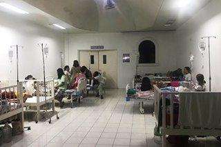 Conference room, chapel sa ilang ospital sa Laguna ginawang dengue ward