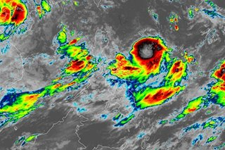 PAGASA: LPA may turn into tropical depression Hanna