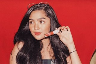 Andrea Brillantes launches makeup line