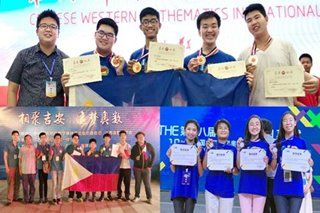 PH wins medals in China math contests