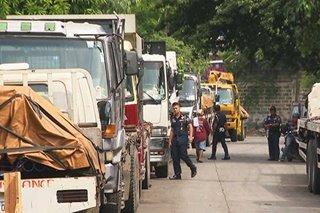 Mga truck target ng clearing ops sa QC