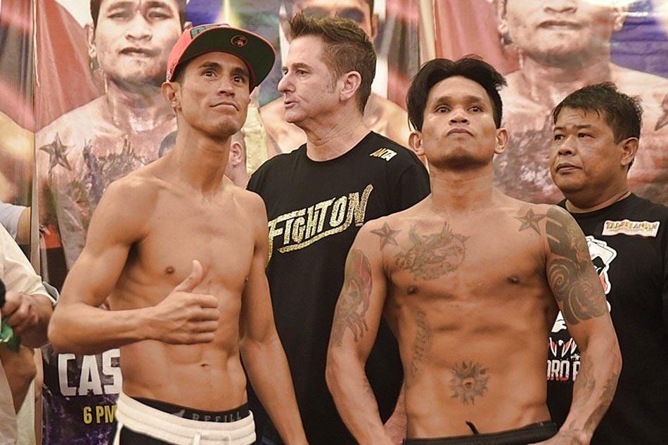 Casimero, Ramirez make weight for Manny Pacquiao Championship Boxing headliner in Manila