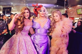 LOOK: 'The Panti Sisters' stars stun in gorgeous gowns at premiere
