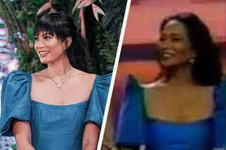 Did you know? Isabelle Daza wore her mom's dress to ABS-CBN Ball