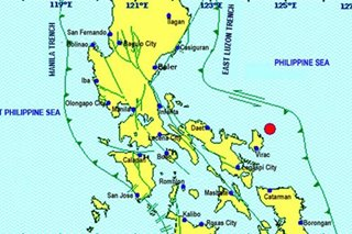 Magnitude-5 quake jolts Catanduanes; no damage expected