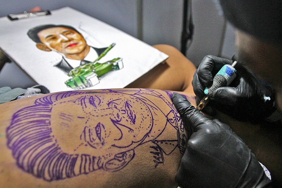 Getting a Marcos tattoo