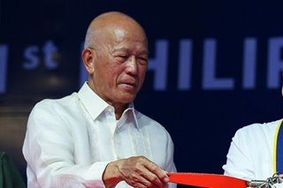 Lorenzana: No new reports yet of Chinese ships in Ayungin Shoal