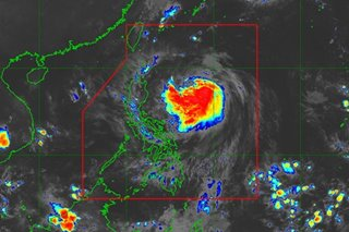 Onyok slightly intensifies over PH Sea, could become severe tropical storm