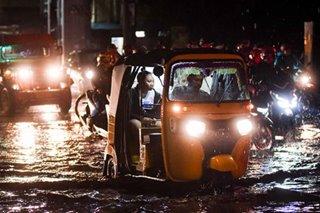 Rush-hour flood