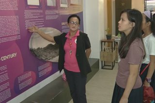 Senior citizens nagsisilbing tour guides sa Malabon Heritage and Library Museum