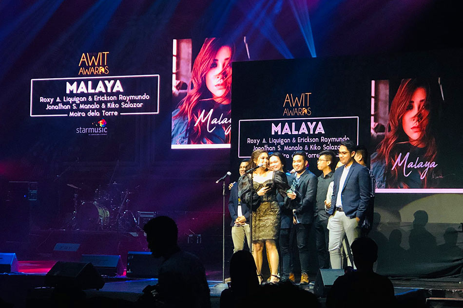 Moira dela Torre wins big at 2019 Awit Awards