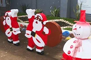 Christmas decors na gawa ng mga preso sa Albay mabenta