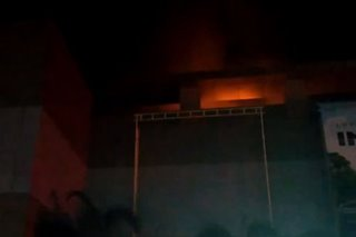 Fire hits Robinsons Place mall in Tacloban