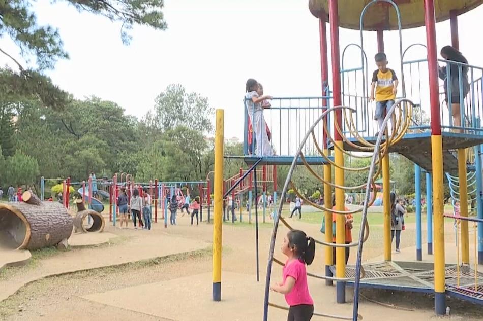 Burnham Park nakitaan ng mataas na lead content