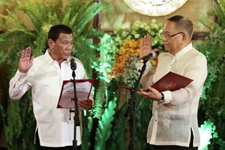 Peralta takes oath as new Chief Justice
