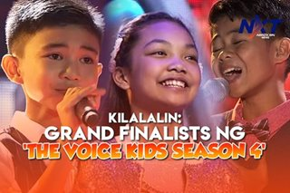 Kilalanin: Grand finalists ng 'The Voice Kids Season 4'