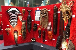 Masks from all around the world on display in Bacolod mall