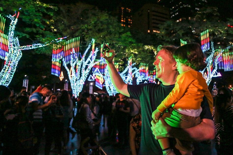 LOOK: Ayala Land unveils Gallery of Lights 10