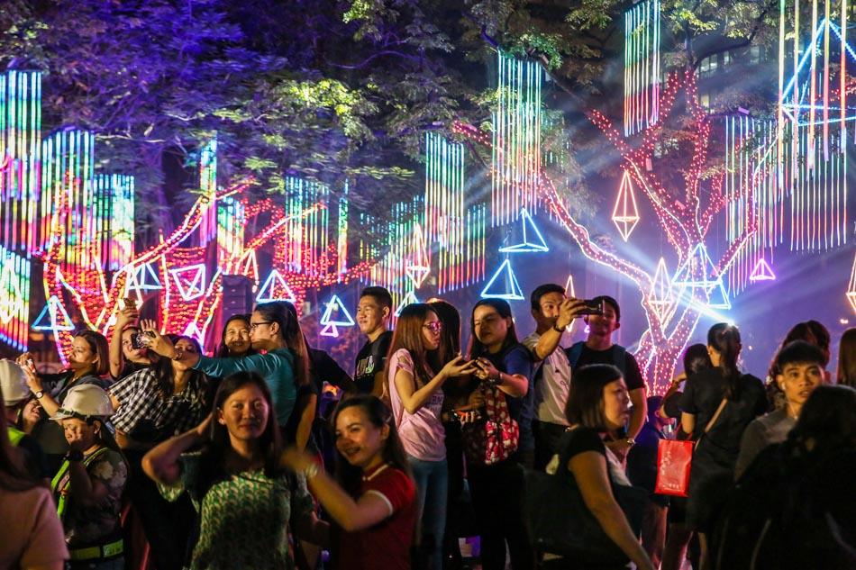 LOOK: Ayala Land unveils Gallery of Lights 9