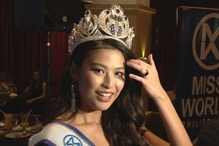 WATCH: Michelle Dee's 'game plan' to bring home Miss World crown