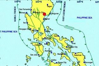Magnitude-4.9 tremor hits Quirino province